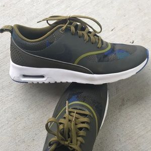 a9f7362db87c Nike Shoes - Nike Running Shoes Air Max Thea WMNS Olive Green